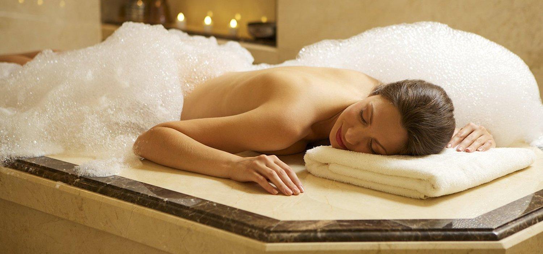 Как сделать мыльный массаж